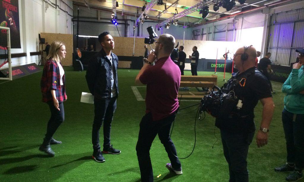 NewBalance football boots LIVE launch