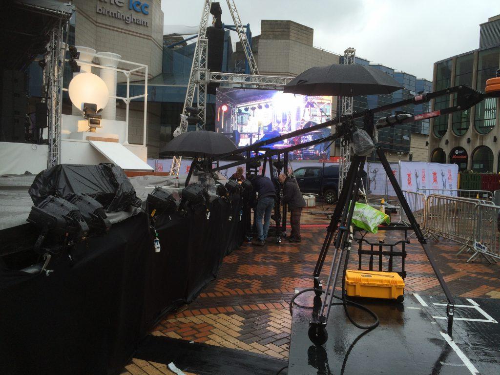 iDFB- Dance Festival Birmingham, it rained… proper rain